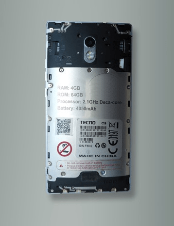 Tecno Phantom 6 battery