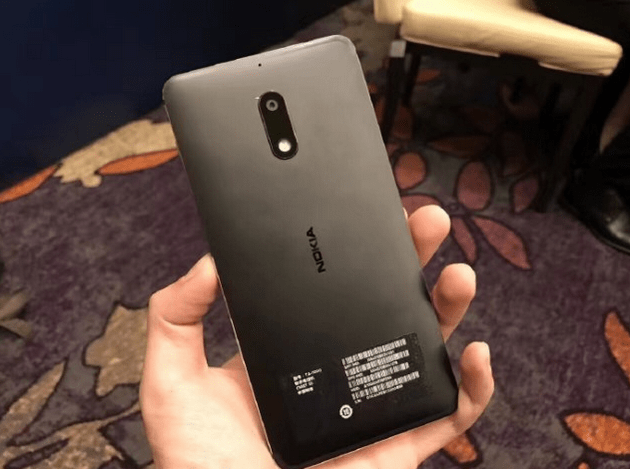 Nokia 6 hands-on image