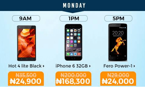 Mobile Week Flash Sales Day 1