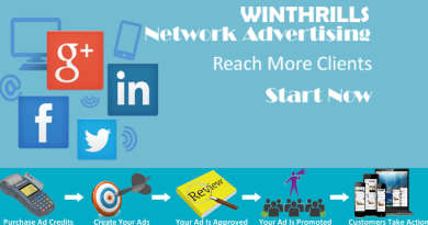Advertising on Winthrills Network