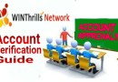 WINThrills Network Account Verification – How To Verify Your Winthrills Account