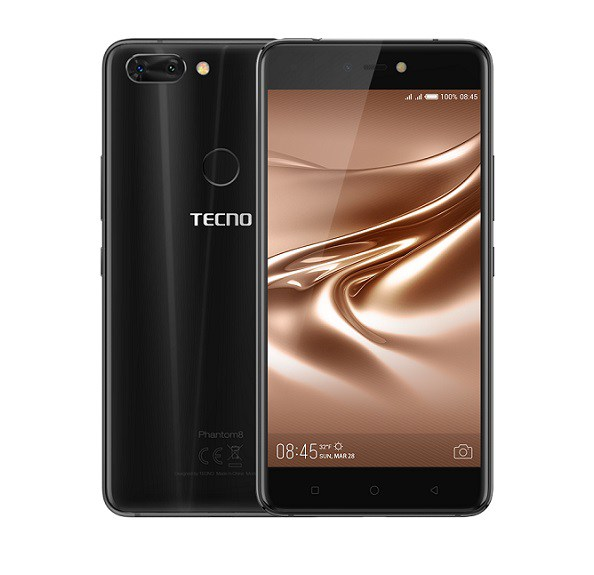 Tecno Phantom 8 dual camera phone