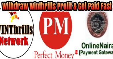 Winthrills Direct Withdrawal: Withdraw and Get Paid Fast