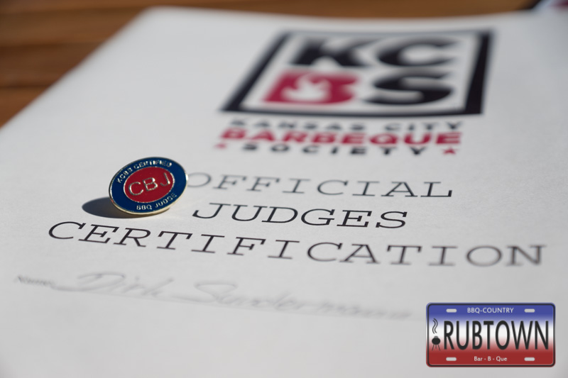 Certified Barbeque Judges - kurz CBJ