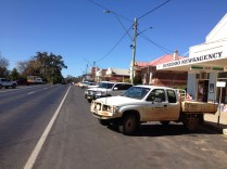 Typical outback town