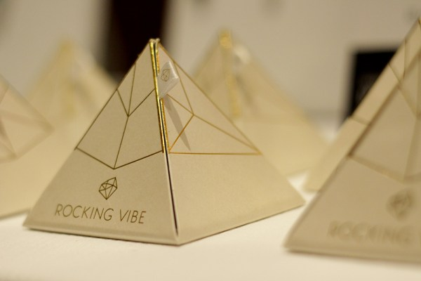 Rocking Vibe Pyramid boxes