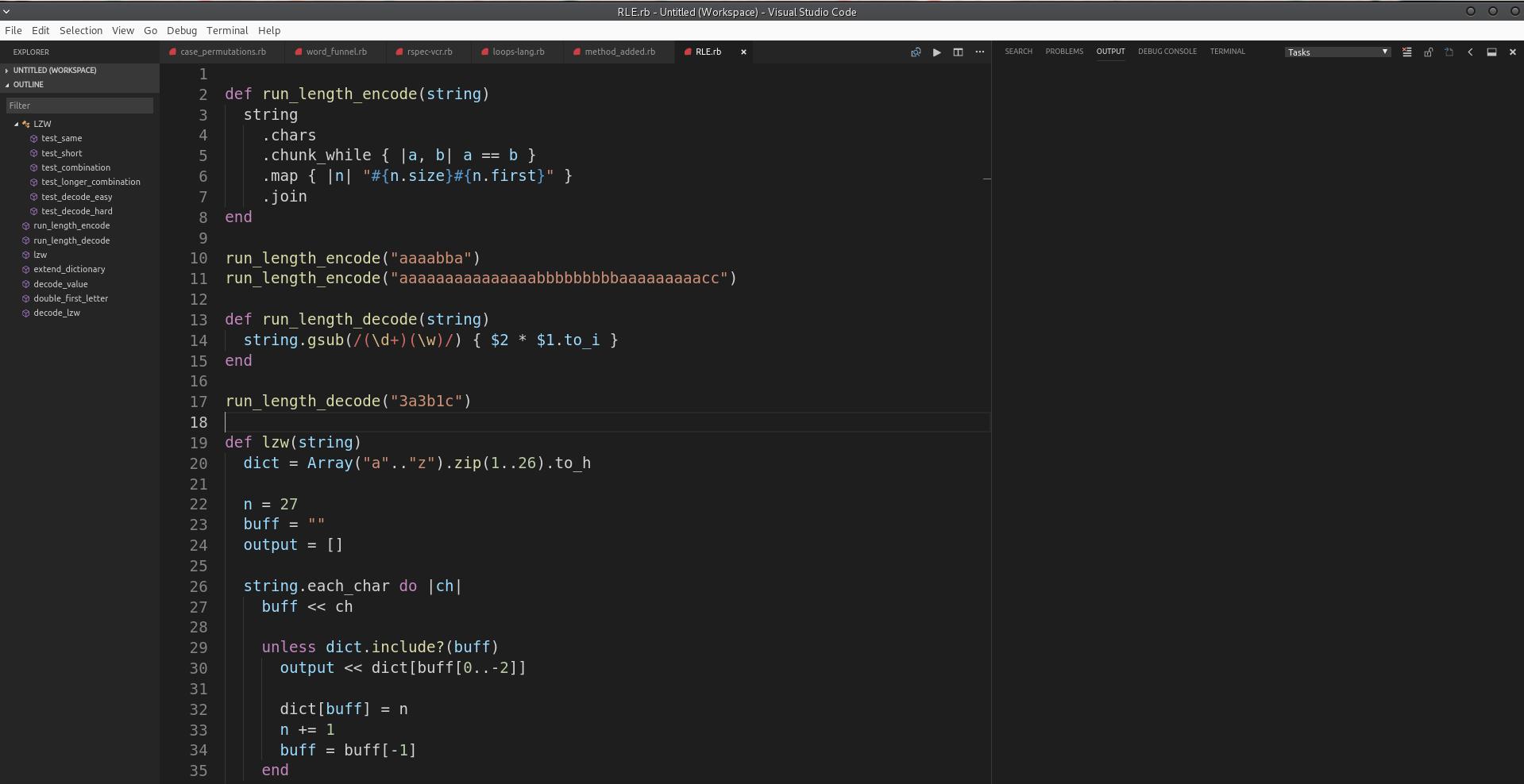 VSCode Ruby IDE