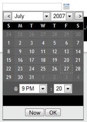 Calendardateselect