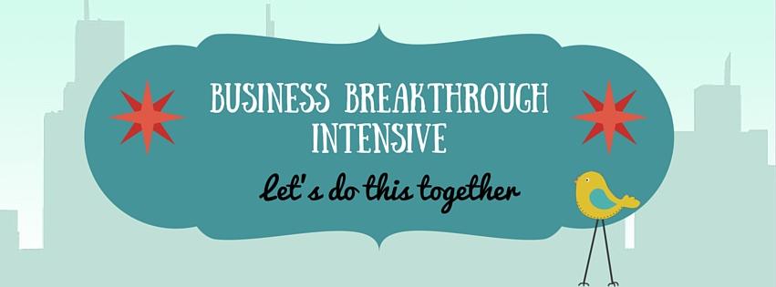Business Breakthrough Intensive