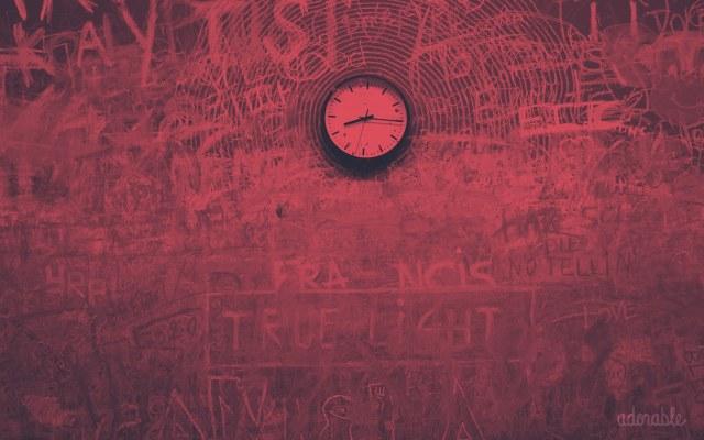 A clock