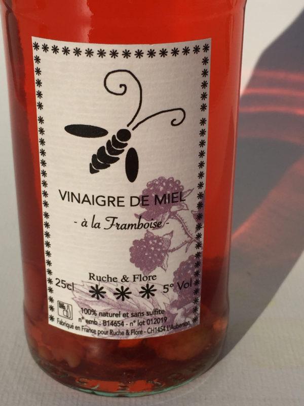 vinaigre de miel Framboise-5
