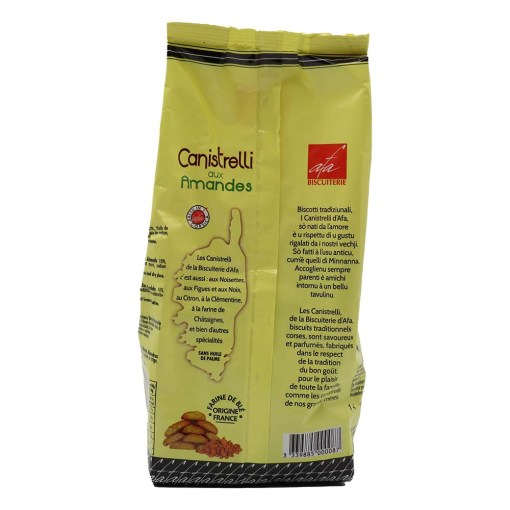 Canistrelli aux Amandes luxe 350g 02