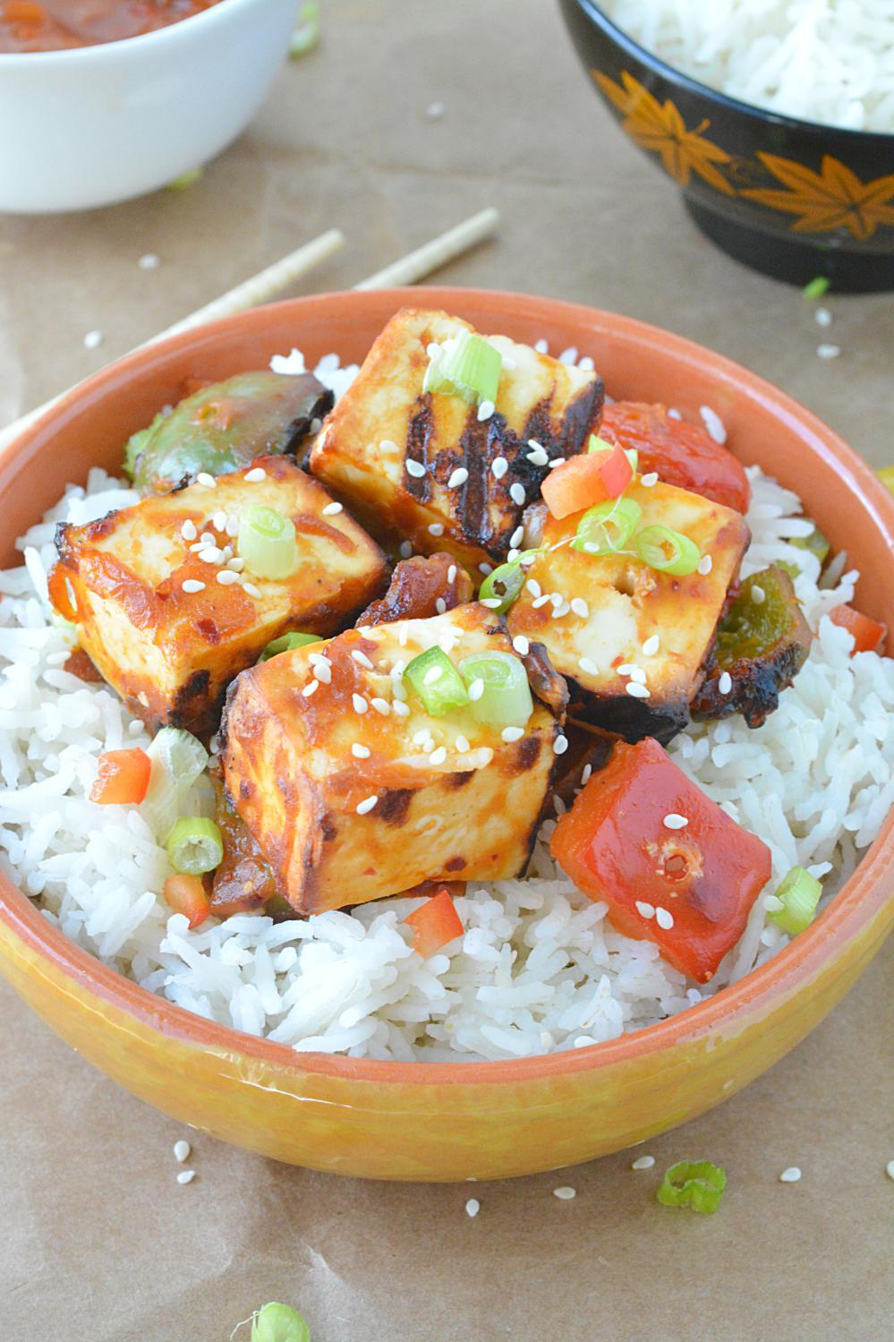 Baked Orange Chicken Rice