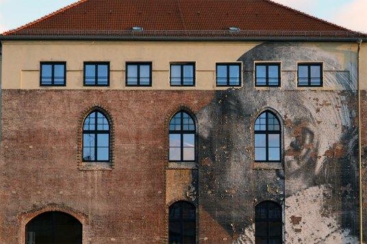 Arkitektur och gatukonst i Berlin