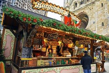 Julmarknad på Kurfurstendamm