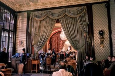 Fika på café Gerbeaud