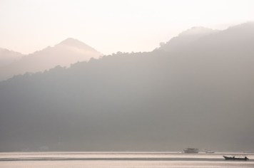 Morgondis över fiskarna