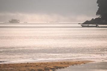 Morgondis över havet