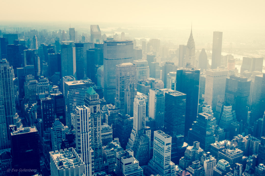 Fotoalbum från New York