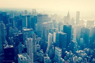 Utsikt från Empire State Building - New York