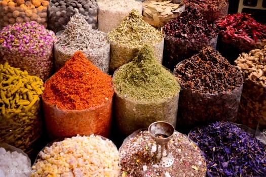 Kryddmarknaden i Dubai - UAE