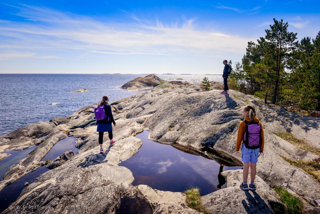 Sandhamn - dagsutflykt till stränder och klippor