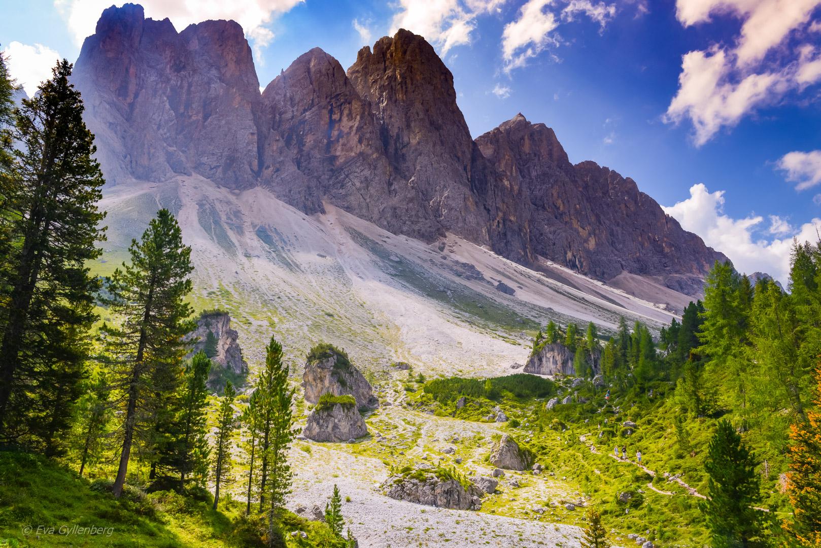 Vandring i Dolomiterna – Val di Funes