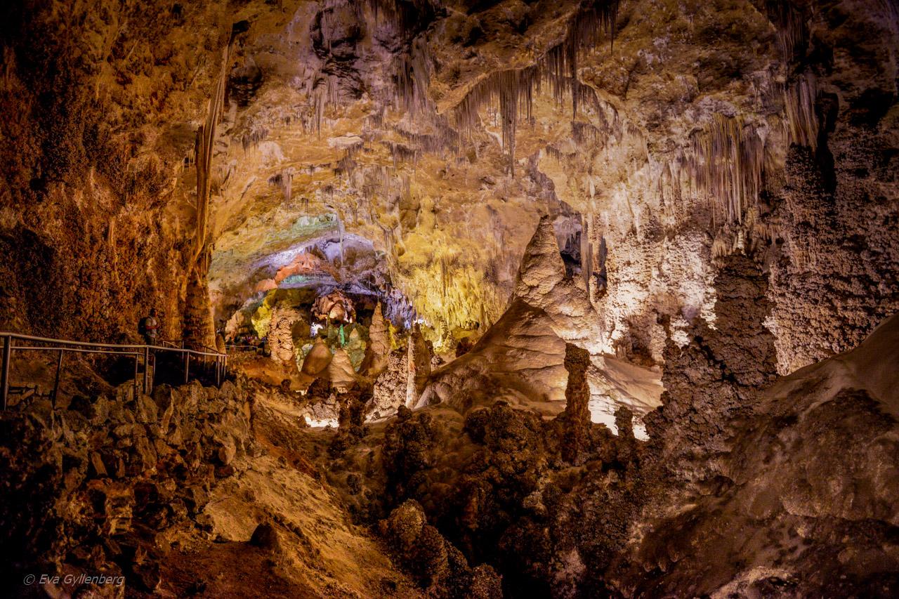 Carlsbad Caverns National Park – Överjordiska vyer underjord