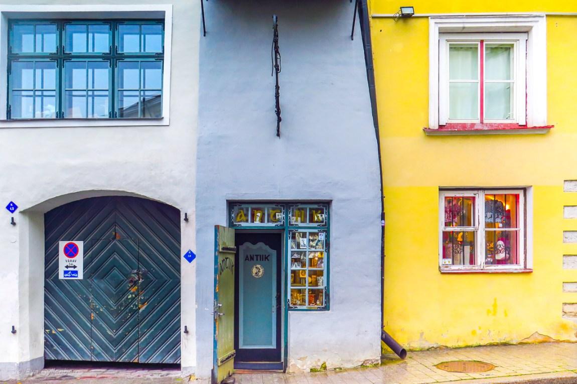 Den lilla antikbutiken i Tallinn - Estland