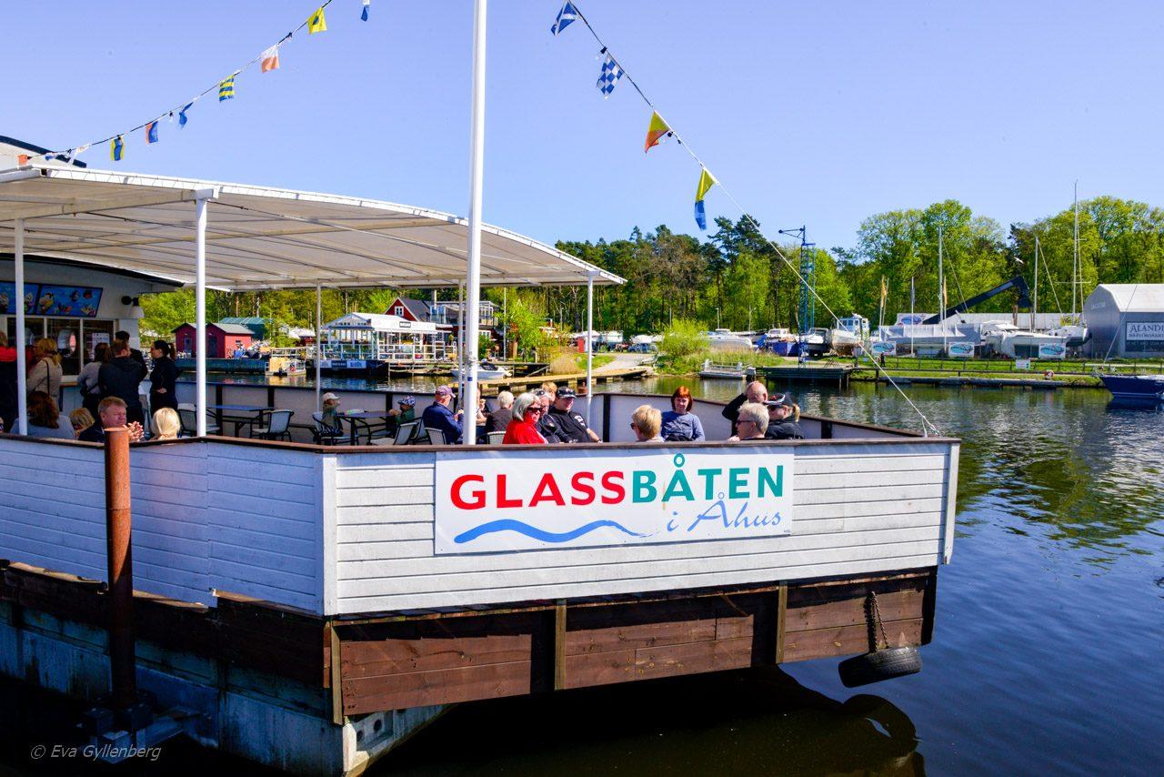 Glassbåten i Åhus