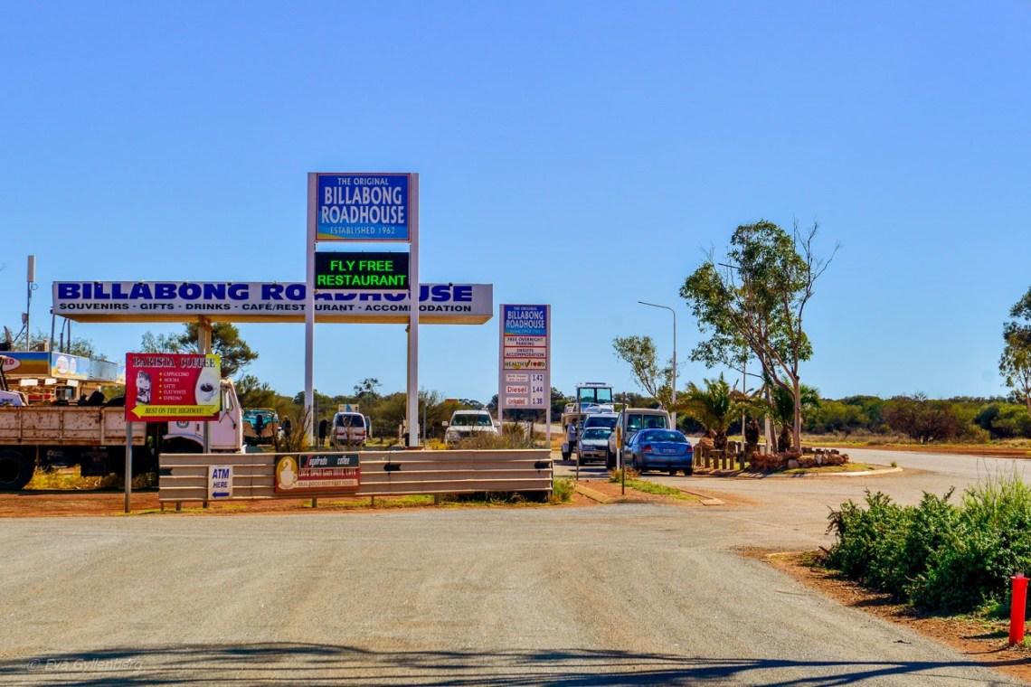 Australien-Bilkörning - Road house