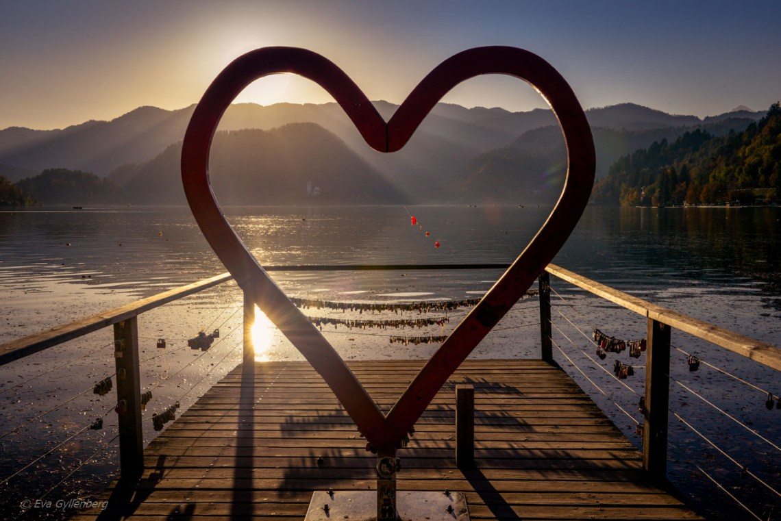 I Fee Slovenia vid Bledsjön