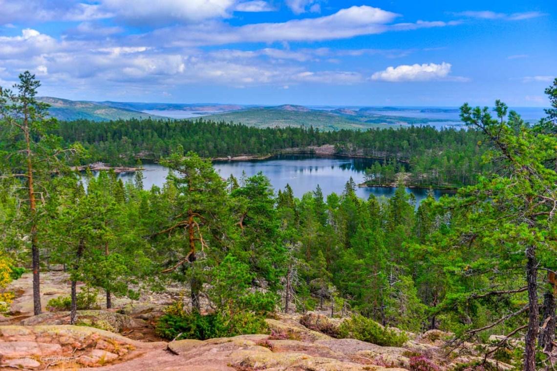 View from Slåttdalsskrevan