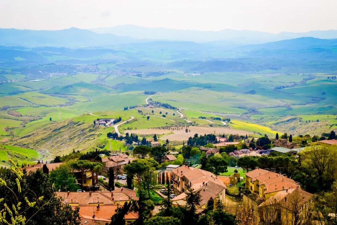 Utsikten från Volterra