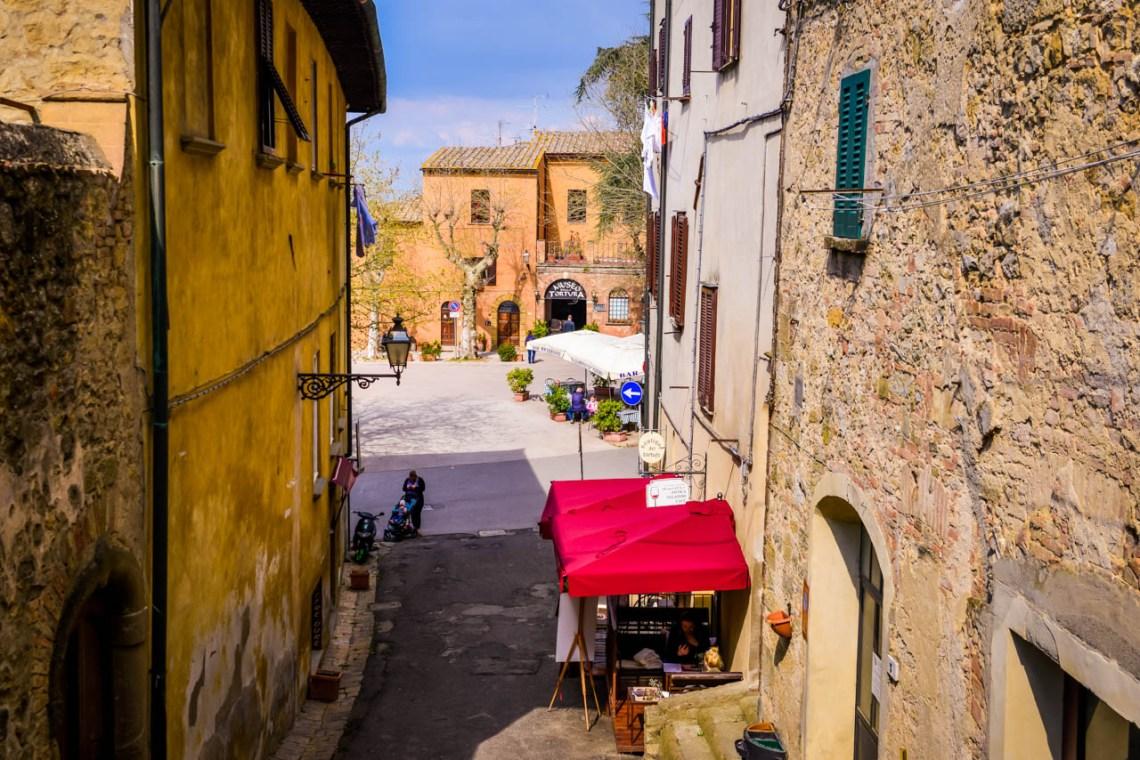 Restaurang i Volterra