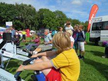 Jung und alt haben sich aktiv an der Mitmachaktion des Ruderverbands mit den Kieler Rudervereinen beteiligt