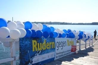 """Benefiz-Regatta """"Rudern gegen Krebs"""" am 4. Juni 2016 in Kiel"""