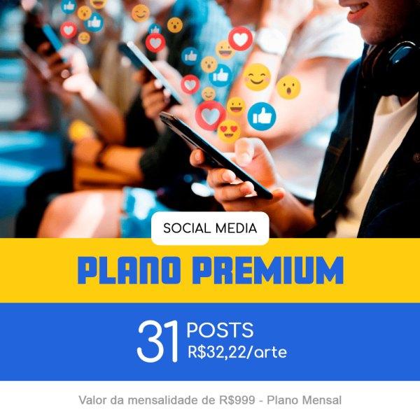 Plano Premium - Mensal
