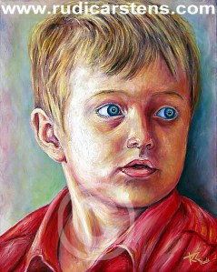 Potrait Painting by Rudi Carstens