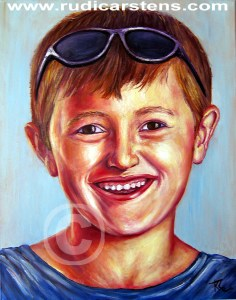 Portrait Painting by Rudi Carstens