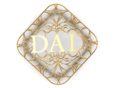 Dad Pendant