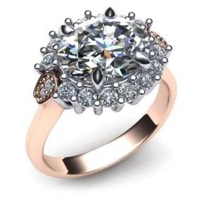 Two Tone Diamolnd Ring