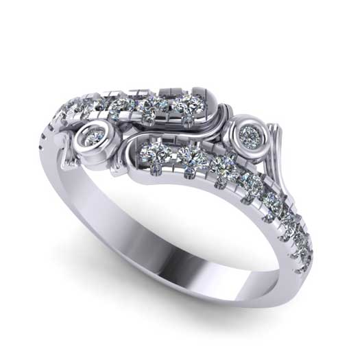 custom design ring - Wedding Band