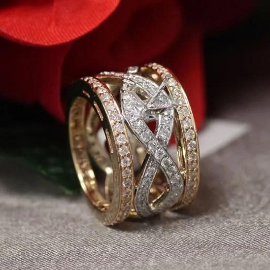 custom design ring - Vintage Style Wedding Band