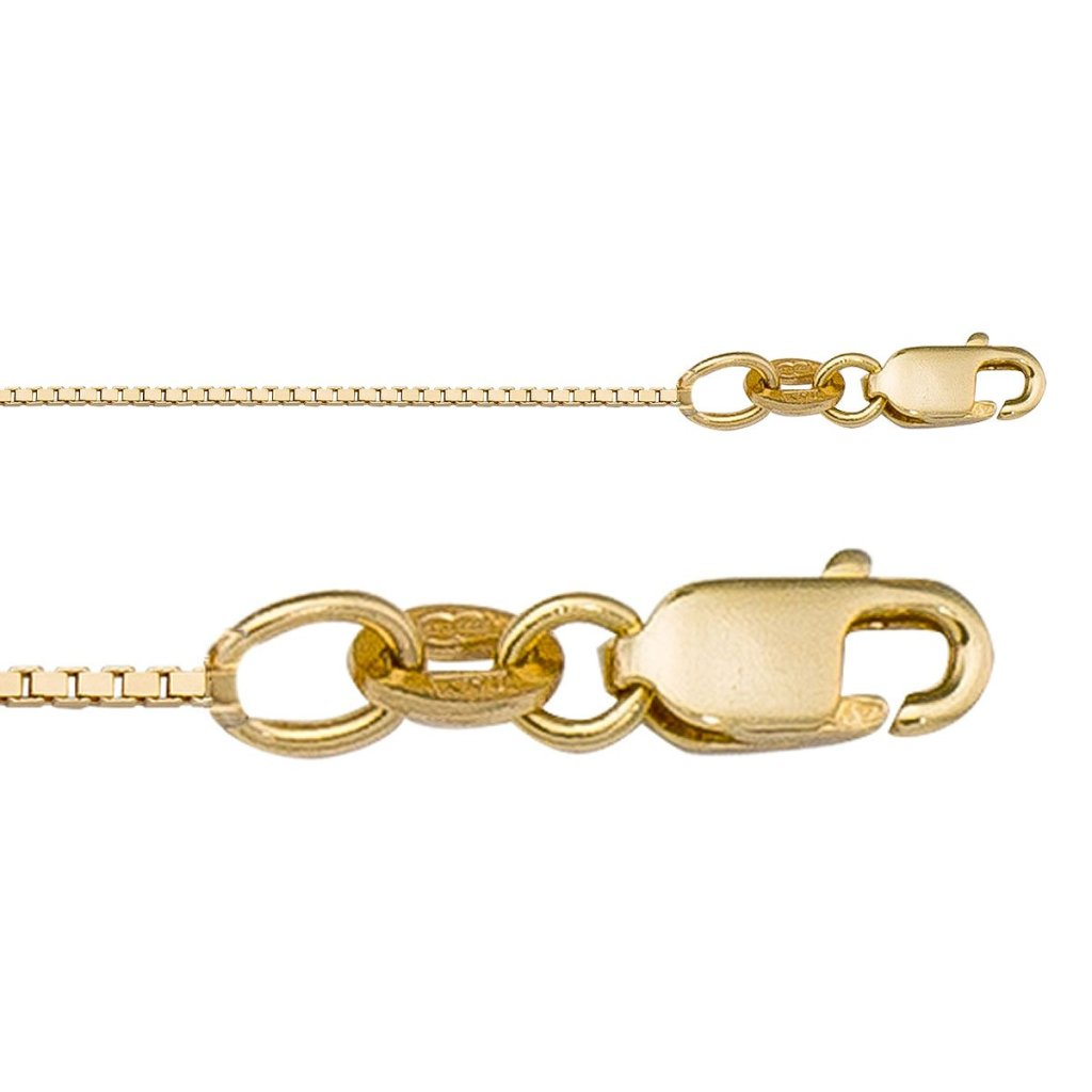 Box Yellow Gold Chain