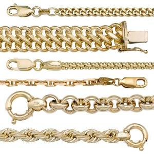 Yellow Gold Chains