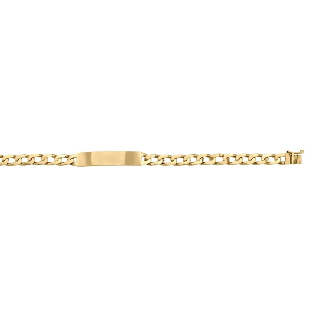 Gold ID Bracelet