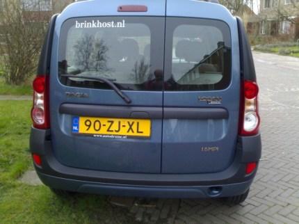 Dacia - achter