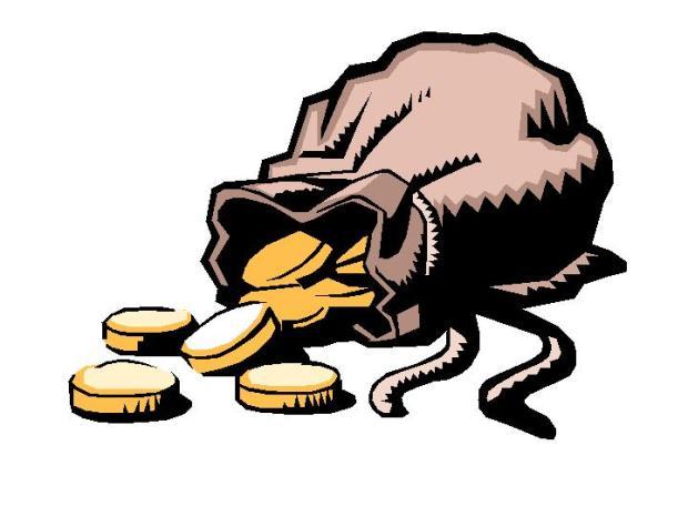 geld, loonzakje