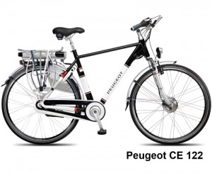 Peugeot Ce-122 Elektrische fiets, Halfords